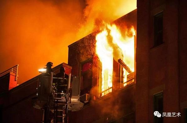 美国华人博物馆85000件藏品恐被毁于大火中