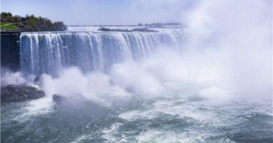 举世闻名的尼亚加拉大瀑布