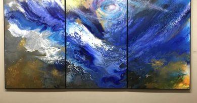 纽约纳苏郡艺术博物馆《蓝色交响乐》主题画展重开