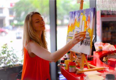 乌克兰艺术家奥尔加·雷巴斯( Olga Rybas): 从时尚到艺术