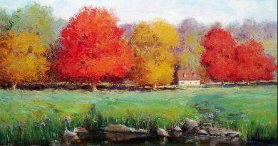 埃里克·沃利斯的七彩秋景